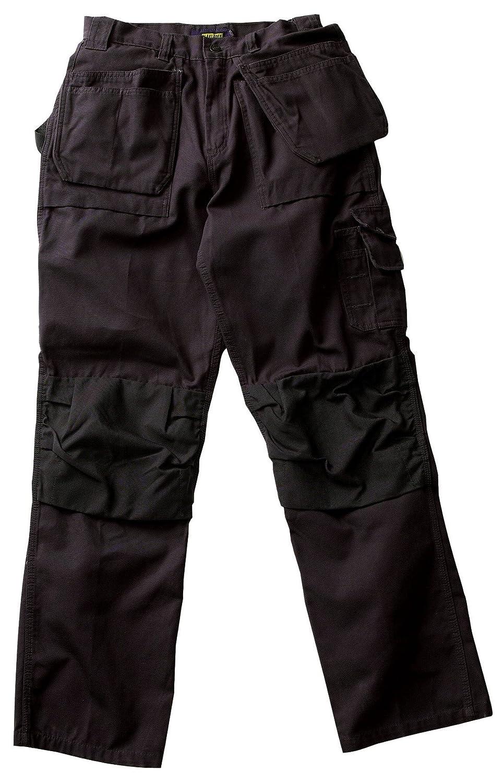 Khaki Blaklader Workwear Bantam Pant with Utility Pockets 8-Ounce Cotton 30-Inch Length 38-Inch Waist