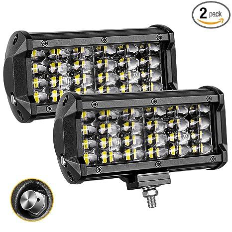 Amazon led light bar dji 4x4 2pcs 6 144w quad row led pods led light bar dji 4x4 2pcs 6 144w quad row led pods flood aloadofball Gallery