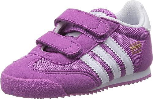 adidas Originals Dragon CF I, Baskets Mode Baby Girl Purple Size: