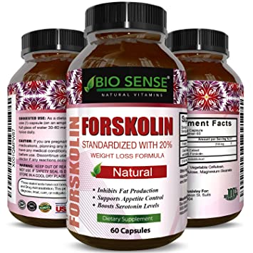 Amazon Com Natural Fat Burner Pure Forskolin Extract Diet Pills