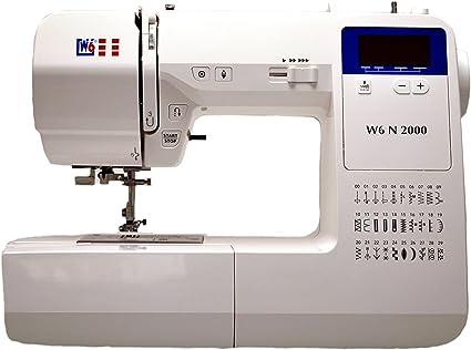 W6 de la máquina de Coser N 2000: Amazon.es: Hogar