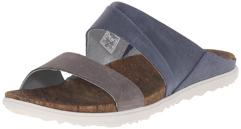 Merrell Women's Around Town Slide Sandal B00YDM6HXK 9 B(M) US|Blue