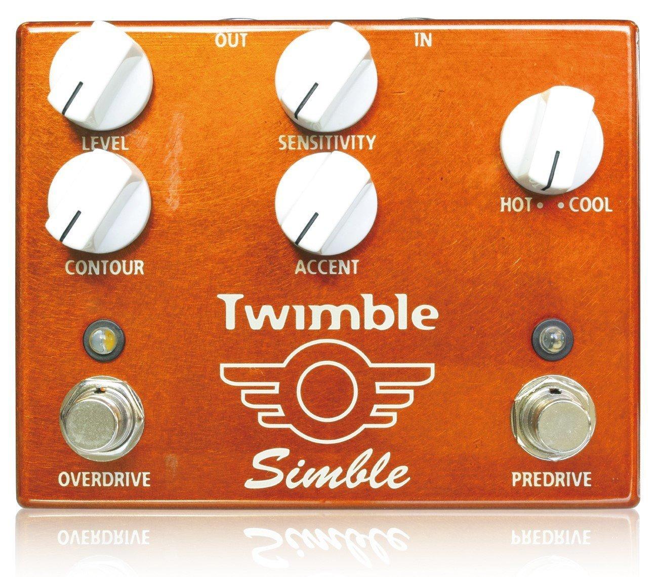 Simble Pedal◆Twimble Overdrive + Predriver ◆シンブルペダル オーバードライブ プリドライバー『並行輸入品』   B0736PB4KC