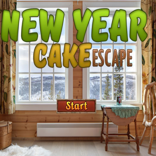 Escape Games New Year Cake