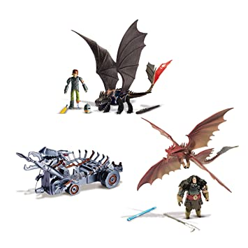 How to train your dragons 2 power dragon attack playset with how to train your dragons 2 power dragon attack playset with hiccup drago ccuart Gallery