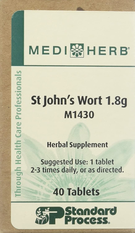 Mediherb St. John s Wort 1.8g 40 Tablets