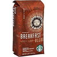 Deals on 6-Pack Starbucks Breakfast Blend Ground Coffee 16 Ounce