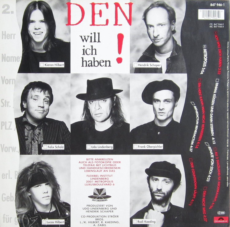 Ich Will Dich Haben [Vinyl LP] Udo Lindenberg Amazon Musik