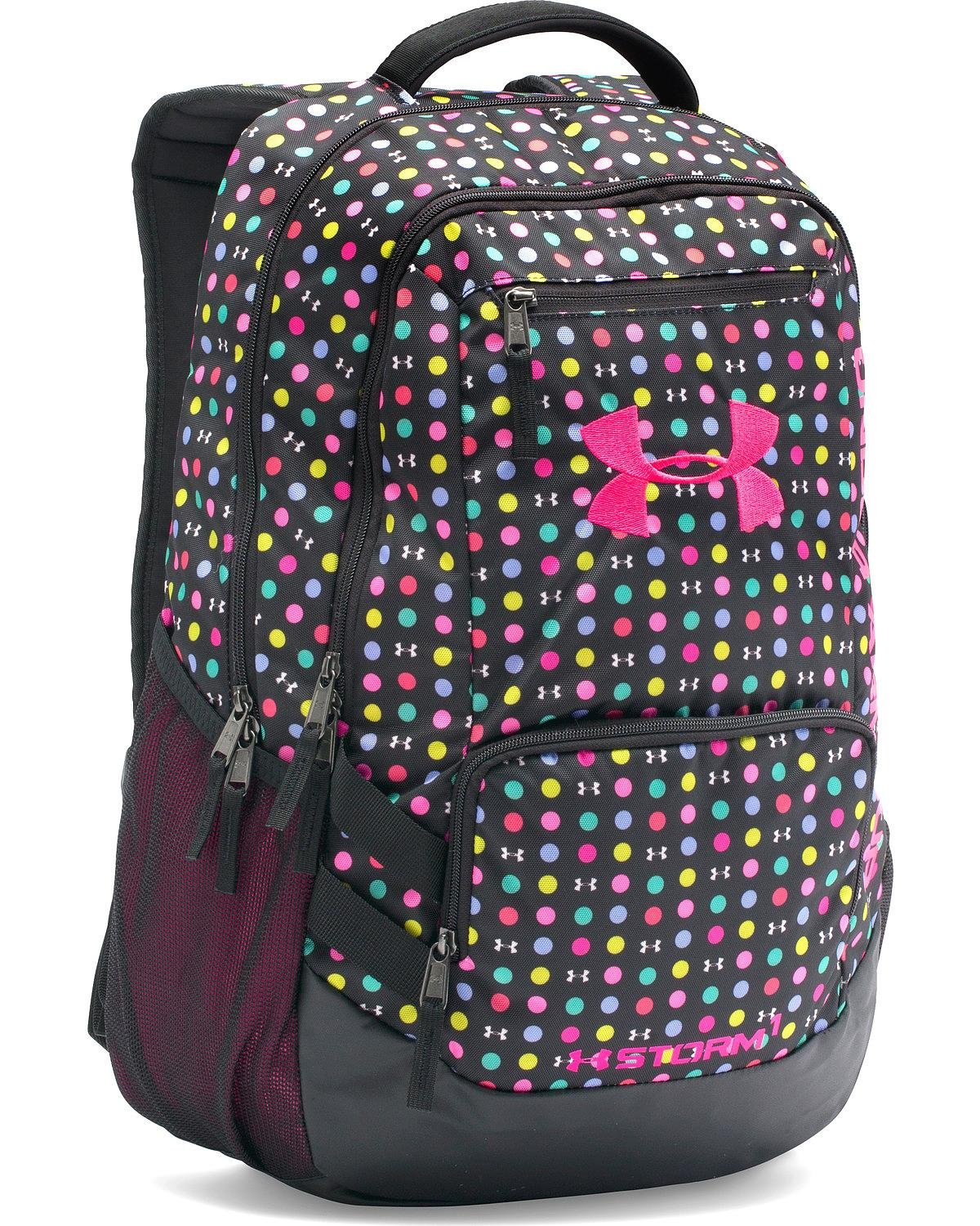 e5716037a80c Under Armour Girls' Storm Hustle Ii Backpack Black One Size
