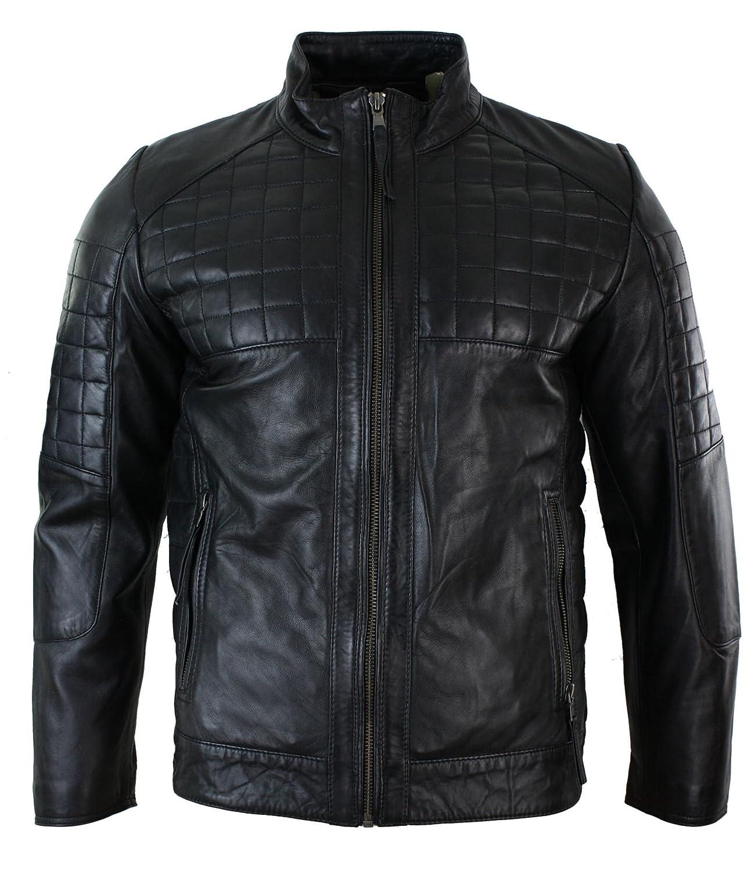 Infinity Herrenjacke 100% Echtleder Schwarz Braun TailGoldt Fit Biker Stil Stil Stil Designer B01L9GCNEO Jacken Reichhaltiges Design d03963
