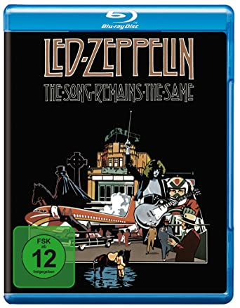 Led Zeppelin - The Song remains the Same Alemania Blu-ray: Amazon ...