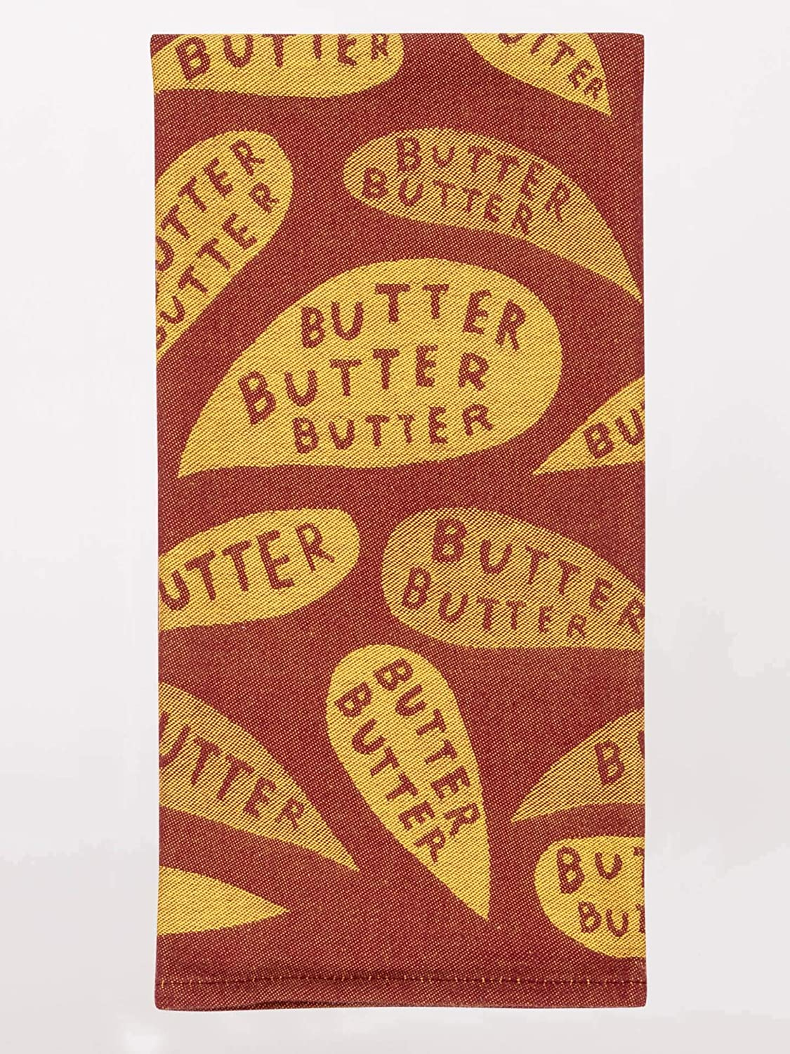 Blue Q Dish Towel, Butter Butter Butter, 100% Cotton, 28 by 21 Inches (WW616)