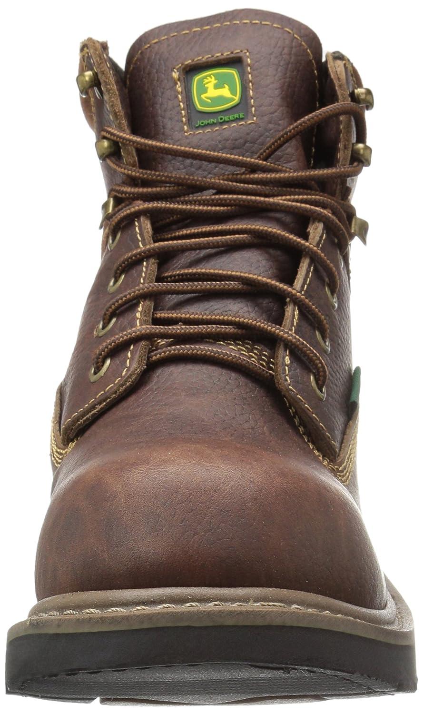 John Deere - Botas de Trabajo para Hombre 6 Brn Impermeables NST Farm/WRK Lu, Marrón (Marrón), 7 D(M) US: Amazon.es: Zapatos y complementos