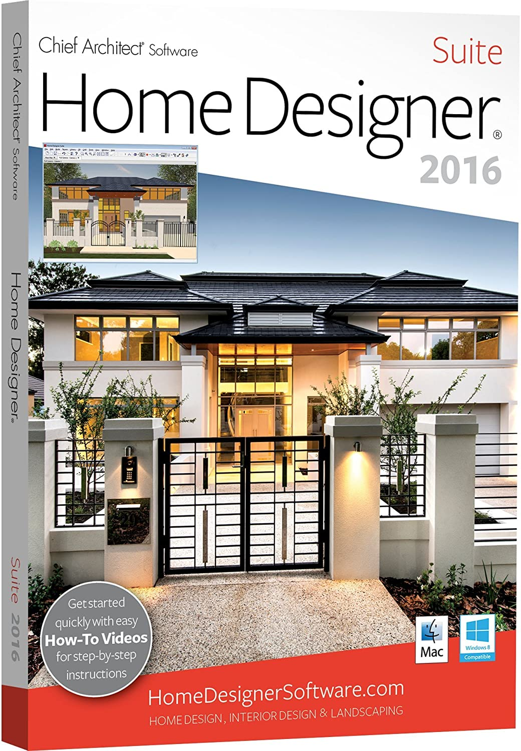 Home Designer Suite 2016 PC Mac Amazoncouk Software