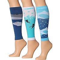 Calf Compression Sleeve 3-Pairs (12-14 mmHg) is Best Athletic & Medical for Men & Women,Travel,Running,Nurses,Flight…