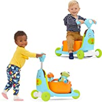 Skip Hop Kids 3-in-1 Baby Activity Push Walker & Ride On Scooter Toy, Dog