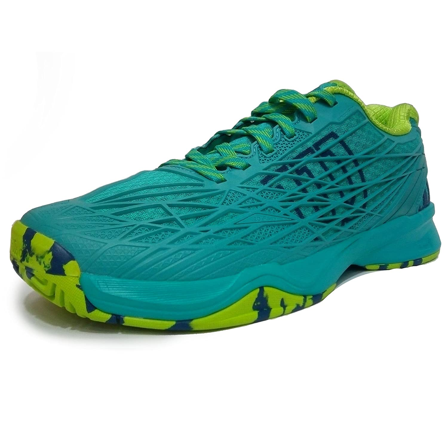 ZAPATILLAS WILSON KAOS WOMAN AZUL VERDE: Amazon.es: Deportes ...
