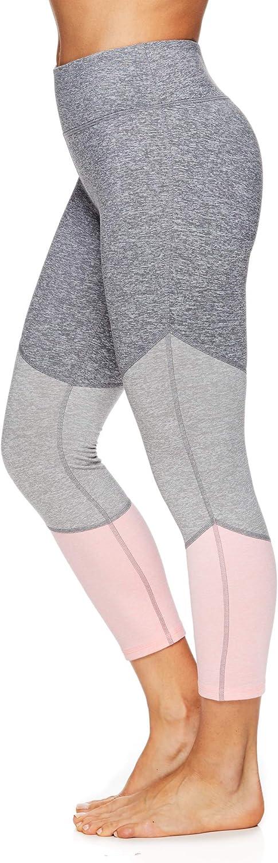 Gaiam Womens Capri Yoga Pants Performance Spandex Compression Legging