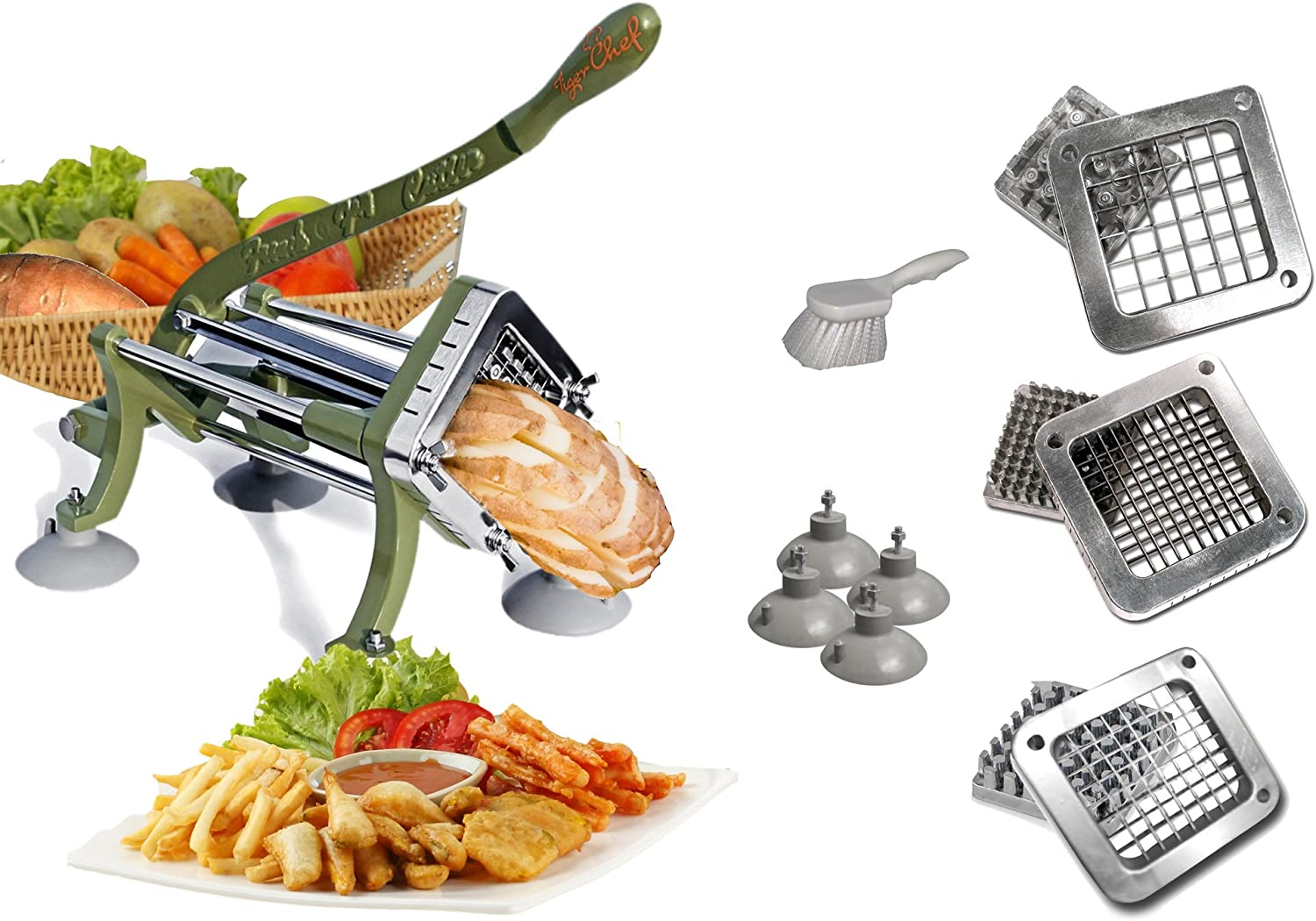 Tiger Chef Heavy Duty Potato French Fry Cutter
