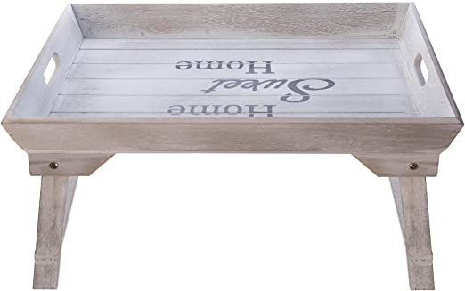 elbmöbel cama Bandeja (Madera, 48 x 33 x 25 cm Bandeja para ...