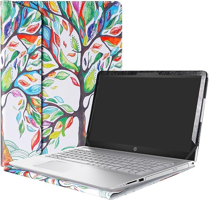 """Alapmk Protective Case Cover for 15.6"""" HP Pavilion 15 15-ccXXX 15-cdXXX/Pavilion Power 15 15-cbXXX Series Laptop(Warning:Not fit Pavilion 15 15-cs000/15-ck000/15-ab000/15-af000/15-au000),Love Tree"""