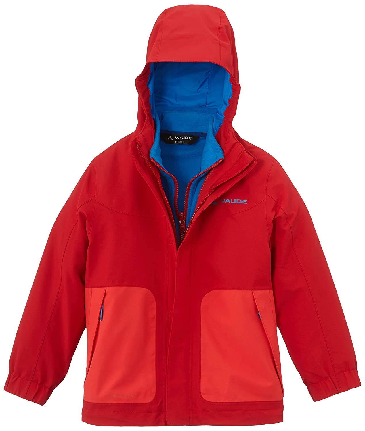 Bambini 05381 VAUDE Camp Fire 3/in1/Giacca IV Doppia