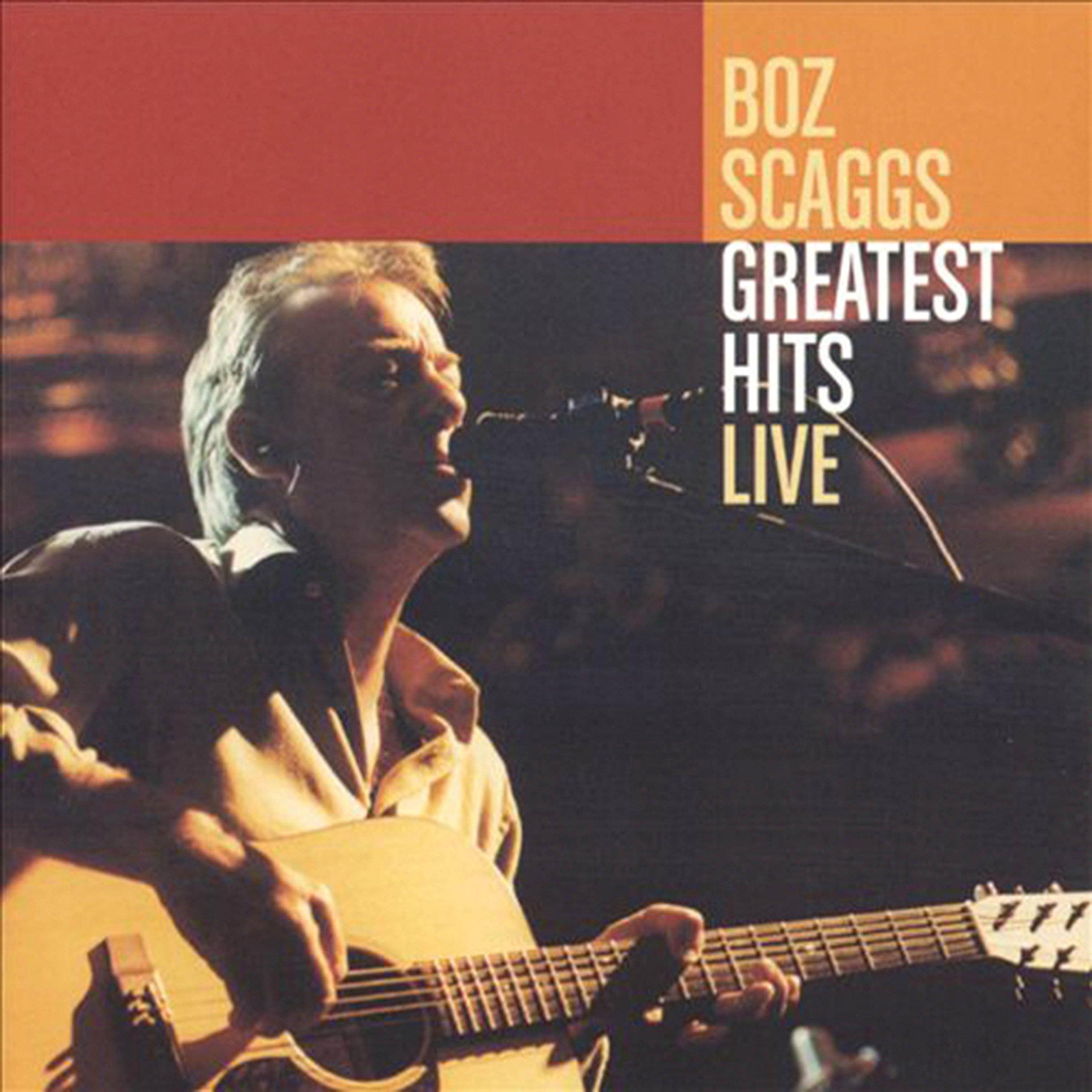 Vinilo : Boz Scaggs - Greatest Hits Live (LP Vinyl)