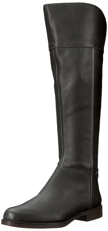 [Franco Sarto] Womens US Chistine Leather Round Toe Womens Knee Toe High Riding Boots [並行輸入品] B0751N9GSF 6.5 Wide US|ブラック ブラック 6.5 Wide US, ニシアリタチョウ:aaa93a04 --- itxassou.fr