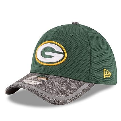 91e8ba2bd Green Bay Packers New Era 39THIRTY 2016 Official Training Flex Hat -  Small Medium