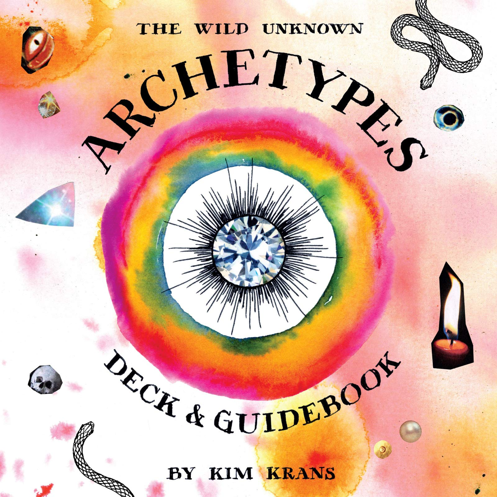 The Wild Unknown Archetypes Deck and Guidebook by AMERICAN WEST BOOKS