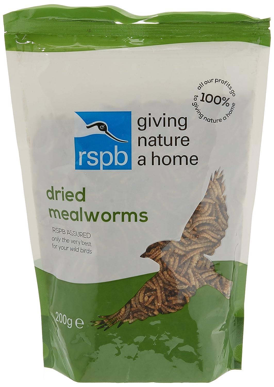 RSPB 200g Dried Mealworms RSPB Sales Ltd