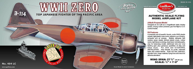 Guillow's WWII Zero Laser Cut Model Kit