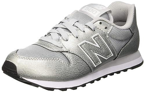 new balance 500 argento