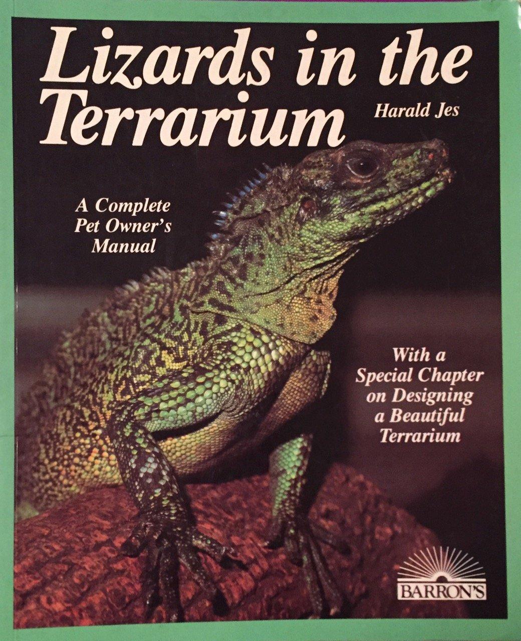 Amazon.com : Barrons Books Lizards in the Terrarium Book : Pet Habitat  Supplies : Pet Supplies