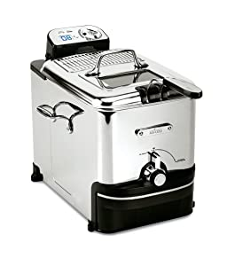 All-Clad 7211002979 EJ814051 3.5 L Easy Clean Pro Deep-Fryer, Silver, 3.5-Liter
