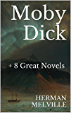 Moby Dick (+ Accompanying Audiobook): And 8 Other Great Novels by Herman Melville