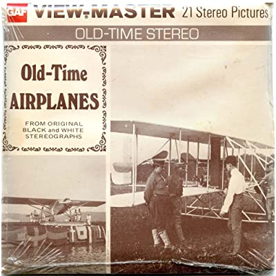 Classic ViewMaster - Old-Time Airplanes from Original Black and White Stereographs - ViewMaster Reels 3D - Unsold store stock - never opened: Toys & Games