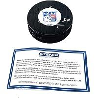$99 » Henrik Lundqvist New York Rangers Signed Autograph NHL Puck Steiner Sports Certified