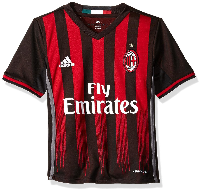 noir rouge Granite M adidas International Soccer Youth Jersey