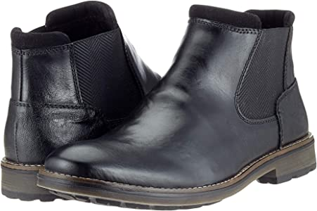 Rieker Herren F5551 Chelsea Boots, Schwarz (SchwarzSchwarz