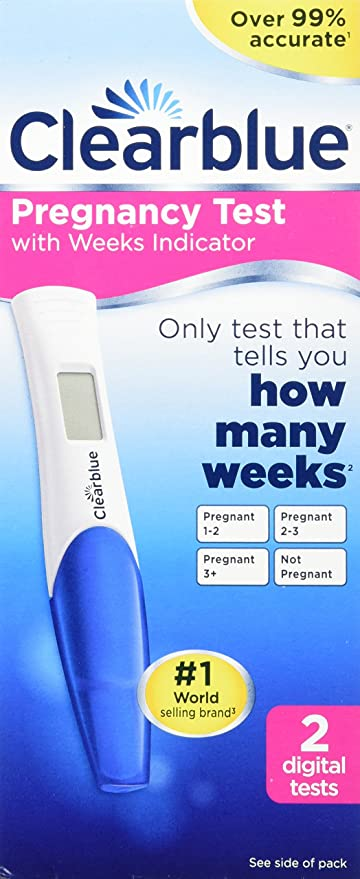 Clearblue Total Digital Pregnancy Test 2 Tests