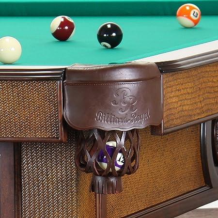 Mesa de billar modelo Orient 8 pies/30 mm de pizarra, unos 400 kg de madera maciza de haya/verde paño: Amazon.es: Deportes y aire libre