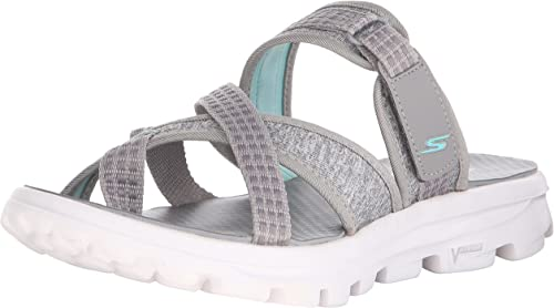 Maldición Día sensación  Skechers Go Walk Move Relax - Sandalias Mujer: Amazon.es: Zapatos y  complementos