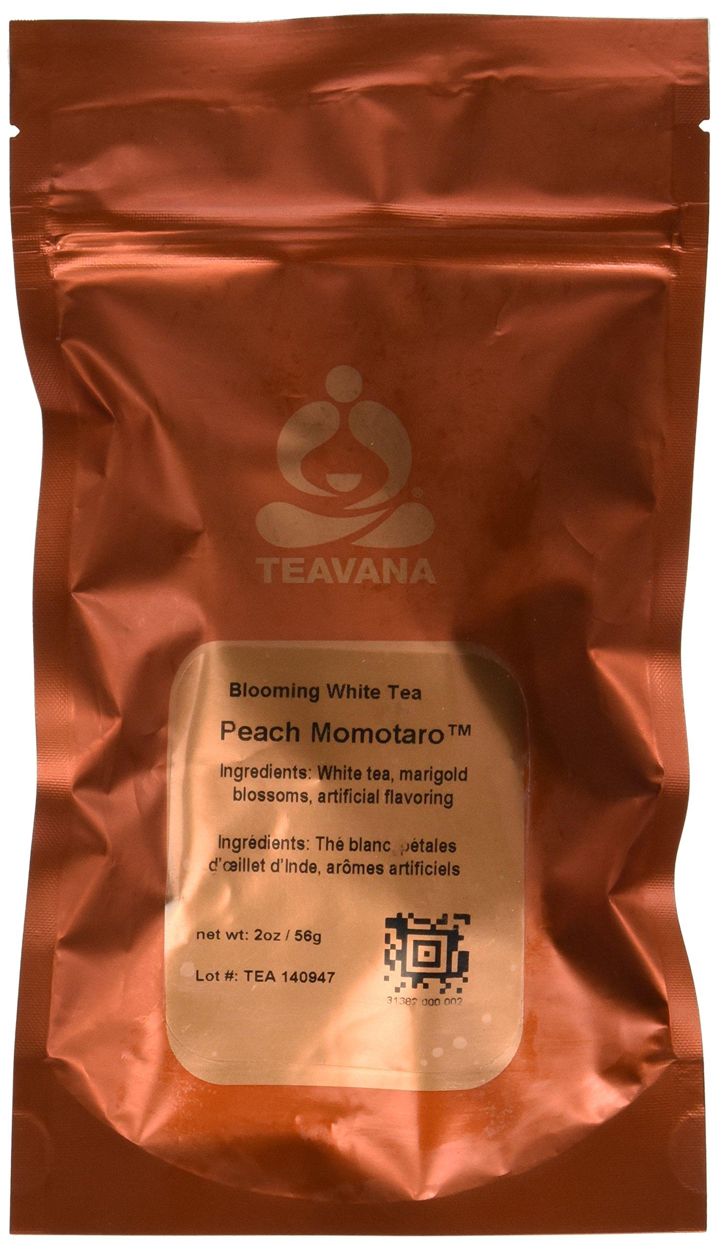 Teavana Peach Momotaro Blooming Flower Tea, 2oz by Teavana