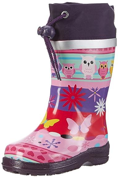 78ccb4a8e8b1f9 Beck Mädchen Eule Gummistiefel  Amazon.de  Schuhe   Handtaschen