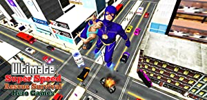 Super Speed Rescue Survival: Flying Hero Games by 3D Futuristic Games