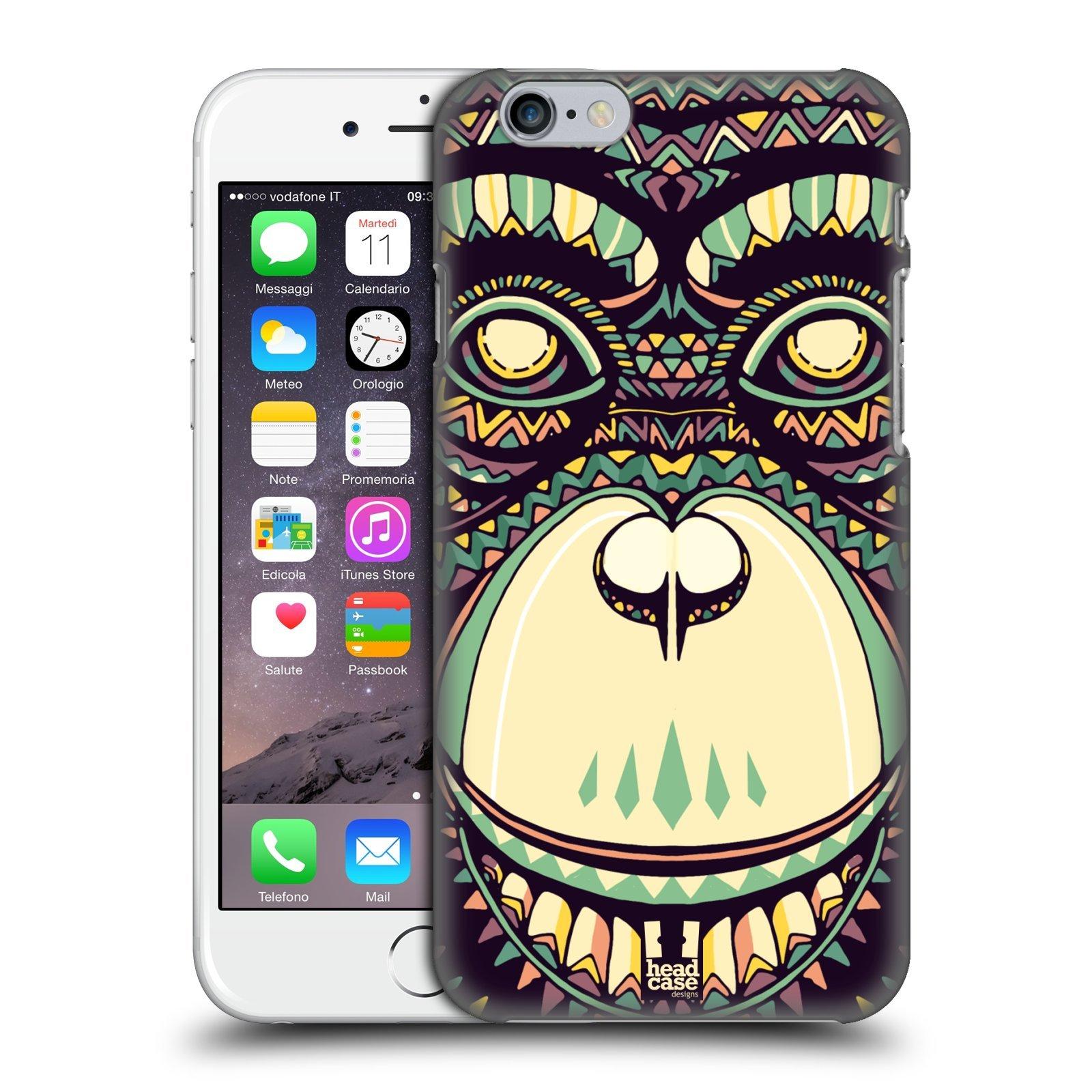 Calendario Ual.Head Case Designs Chimp Aztec Animal Faces 3 Hard Back Case For