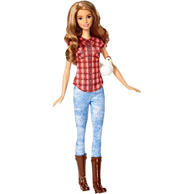 Barbie Careers Farmer Doll: Toys & Games