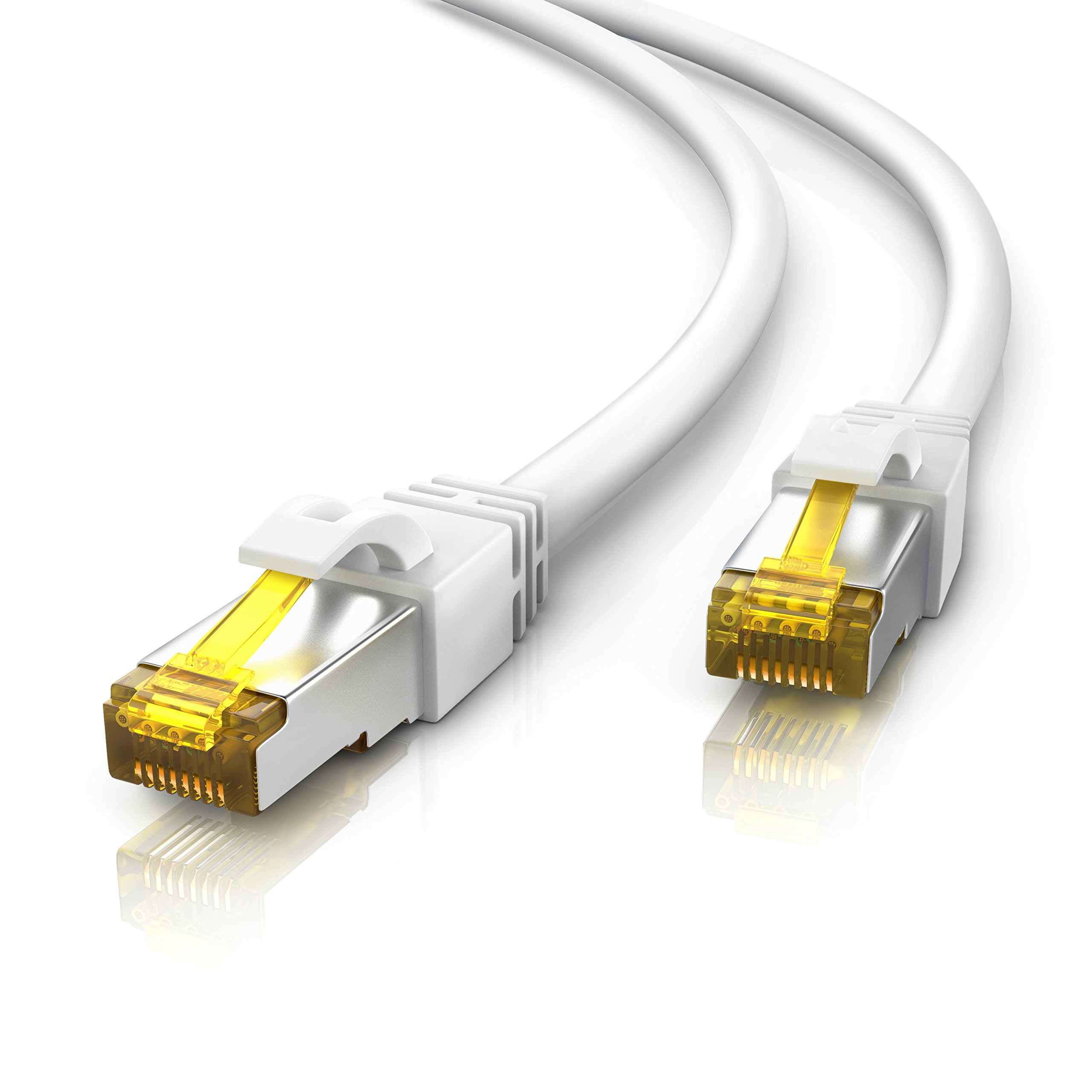 Primewire 10m Cable de Red Cat 7 | Gigabit Ethernet LAN (RJ45) | Cable