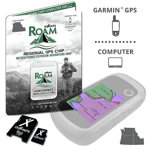 Amazoncom OnXmaps ROAM Northwest Digital Recreation Map For - Onxmaps free trial